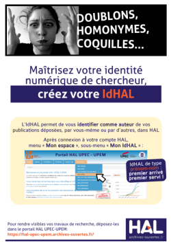 Affiche IdHAL